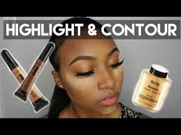 updated contour and highlight foundation for black women makeup tutorial 2016 dark skin