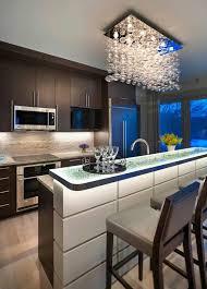 simple modern kitchen. Contemporary Kitchen Lighting Simple Modern Light E