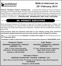 Jobs In Shriram Transport Finance Co Ltd Vacancies In Shriram