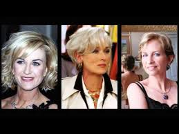 účesy Pre ženy Nad 50 Rokov Moderné účesy