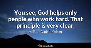 Inspirational Quotes About Hard Work Fascinating A P J Abdul Kalam Quotes BrainyQuote
