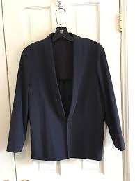 Brunello Cucinelli Size Chart Blue Quarter Sleeve Blazer