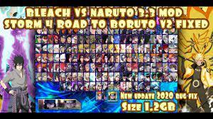 BLEACH VS NARUTO MOD Storm 4 Road to BORUTO V2 FIXED MUGEN ANDROID  [DOWNLOAD] - YouTube