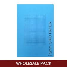 5mm Graph Paper Artway A4 5mm Grid Graph Paper Book 56 Sides Wholesale Pack Of 48