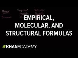 what is structural formula empirical molecular and structural formulas video khan academy