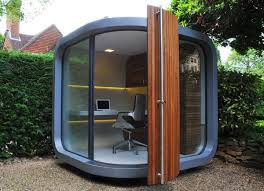 outdoor office pod. With Outdoor Office Pod A