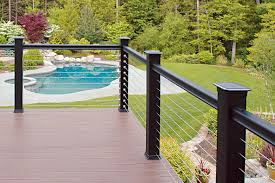 modern cable fence. Contemporary Fence RailEasy Cable Railing Intended Modern Fence