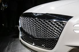 2018 genesis suv gv80. exellent 2018 genesis gv80 fuel cell concept suv grille carol ngo april 12 2017 for 2018 genesis suv gv80