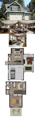 house plans bedrooms above garage house and home design