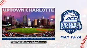 2020 Acc Baseball Championship All Session Ticket Books Now