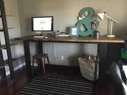industrial office decor. Desk Ikea Modern Decor Rhpinterestcom Best Inspiration U Home Industrial Office Rharchitecturedsgncom Rustic