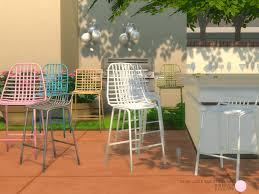 set of 4 bar stools. Set Of 4 Bar Stools O