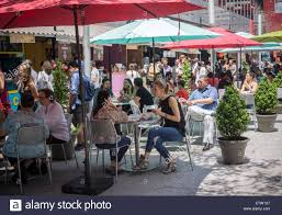 Market Stock Photo Urban Outdoor In At Offerings Alamy Foodies Enjoy 84143535 Penn The Bites -