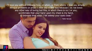 Romantic Love Quotes With Meaning Of Eternal Love With Intimacy