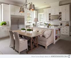 15 Traditional Style Eat-in Kitchen Designs