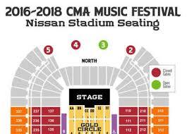 Nissan Stadium Cma Fest Seating Chart Maps More 2017 Cma Music Festival 2017 Cma Music