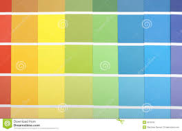 Yellow Car Paint Chart Paint Samples Stock Image Image Of Abstract Sample