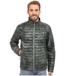 green print the north face for men jackets jacket laurel wreath cirrus insulated thermoball zip better