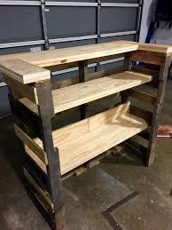 diy pallet bar. Diy Pallet Bar Instructions Step By 38390 O