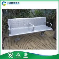 china custom made modern metal garden benches fy 046x 1 china bench park bench