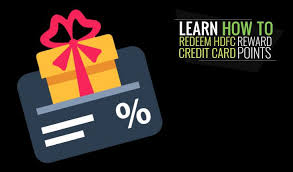 redeem hdfc credit card reward points