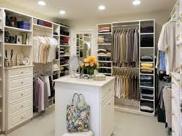 image of small walk in closet design ideas
