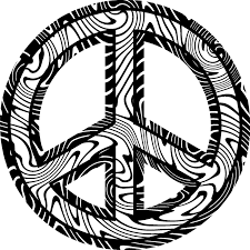 Small Picture Peace sign zebra coloring pages ColoringStar