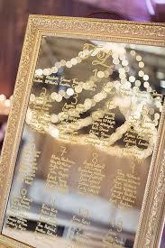 Mirror Wedding Seating Chart Fabulous Mirror Wedding Table Plans Picture Frame Wedding