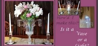 elegant dual purpose centerpiece chandelier dollar tree diy