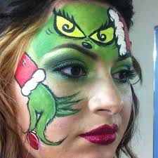 how the grinch stole christmas inspired makeup swing by bella beauty college and get your own matching pair bellabeautycollege
