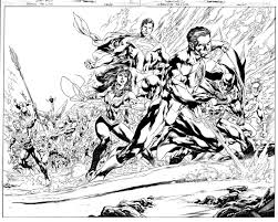 Justice League By Ivan Reis And