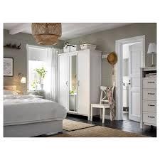 wardrobe furniture ikea. IKEA BRUSALI Wardrobe With 3 Doors Adjustable Hinges Ensure That The Hang Straight Furniture Ikea D