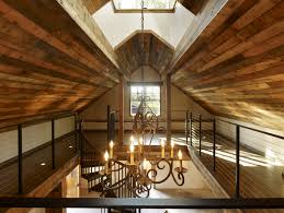 reclaimed materials on the ceiling Bevan & Assoc - Historic Barn Renovation  | Ceilings | Pinterest | Barn renovation, Barn and House