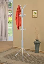 Hat And Coat Rack Stand Amazon White Finish Metal 100Tier Coat Rack Hat Purse Display 12