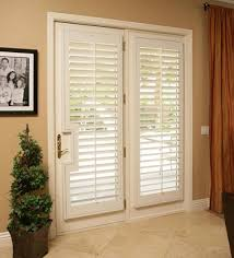 Window Covering Ideas & Inspiration: Polywood Shutters For French Doors