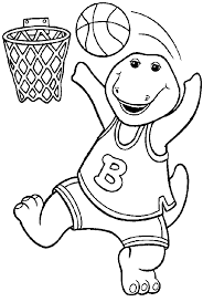 Small Picture Barney Coloring Pages Coloring Pages To Print