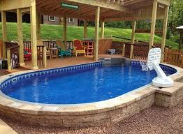 american leisure pool supplies the ultimate above ground swimming pool above or inground