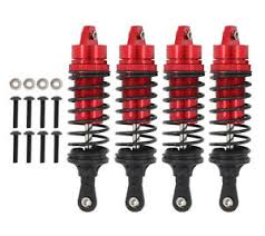 Traxxas Spring Color Chart Details About 4 Pcs Rc Car Front Rear Shock Absorber For 1 10 Traxxas Slash 4x4 Alloy Parts