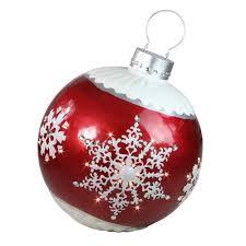 Lighted Christmas Ornaments Ball Northlight 26 5 Led Lighted Red Ball Christmas Ornament