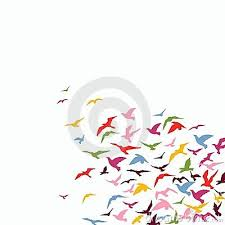 flock of birds clipart. Interesting Clipart Flock Of Birds Royalty Free Stock Image  Image 8713356 To Clipart