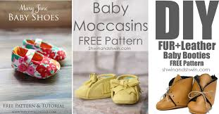 Baby Shoes Pattern Beauteous 48 DIY Baby Shoes Ideas With Free Patterns And Instructions