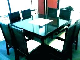 reclaimed wood dining table seater wooden and chairs glass round glass round dining table for 8 glass dining table