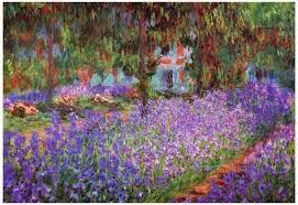 claude monet garden. Interesting Garden Claude Monet Garden At Giverny Art Print Poster Plakat Inside Garden 2