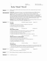 Sample Resume Format For Bpo Jobs Lovely Sample Resume Format For