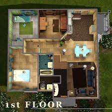 mod the sims iris road 1 starter house for a big sims 3 starter house plans