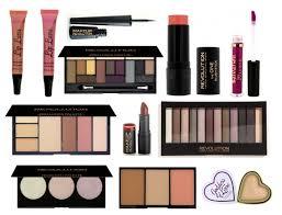 s middot list makeup revolution wish list