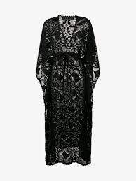 Celia Dragouni Lace Kaftan Dress On Sale Browns