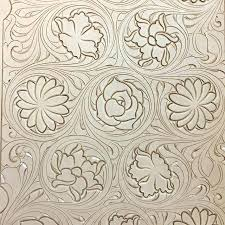 leather carving pattern stamping a the craft patterns pdf free pattern 3 dimensional leather