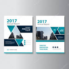 triangle green vector annual report leaflet brochure flyer template design book cover layout design