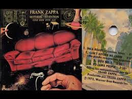 <b>Frank Zappa</b> - <b>One</b> Size Fits All 1975 (The Motherts of Invention ...